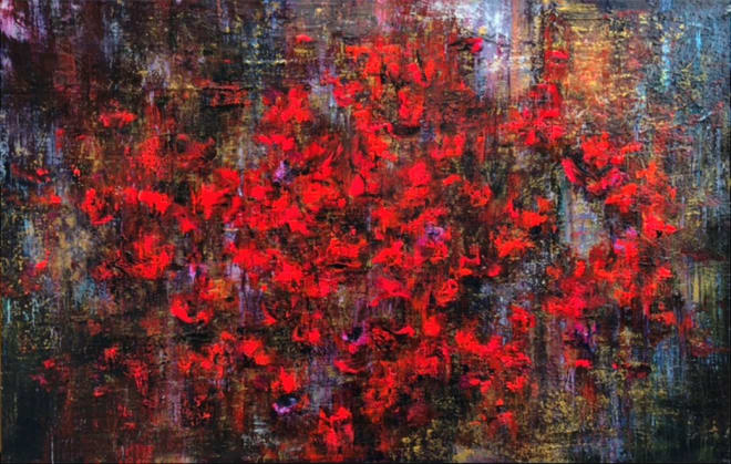 Daniel Hooper, Poppies, 2019