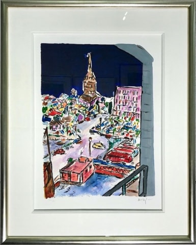 Bob Dylan, Bell Tower In Stockholm - IN STOCK - CALL FOR PRICE, 2013