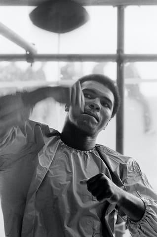 Terry O'Neill, Muhammad Ali, 1972