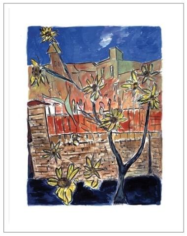 Bob Dylan, Sunflowers (medium format), 2014
