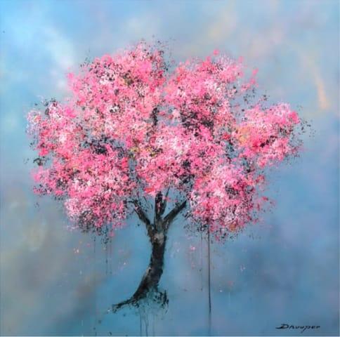 Daniel Hooper, Blossom (blue sky), 2019