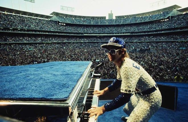 Terry O'Neill, Elton John, 1975