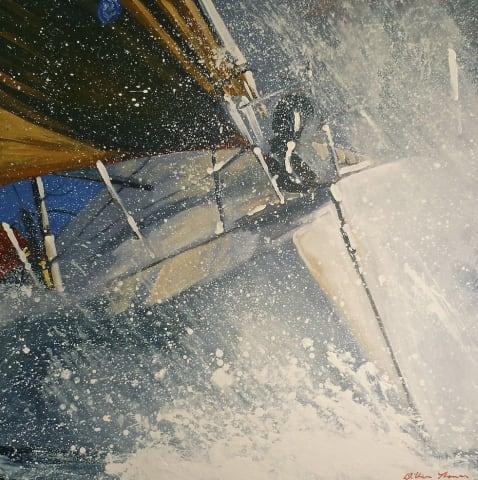 William Thomas, Sunset Race