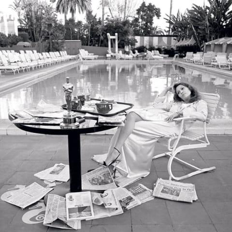 Terry O'Neill, Faye Dunaway, 1977
