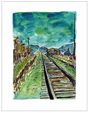 Bob Dylan, Train Tracks (medium format), 2008