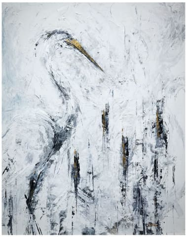 Daniel Hooper, The Heron, 2017