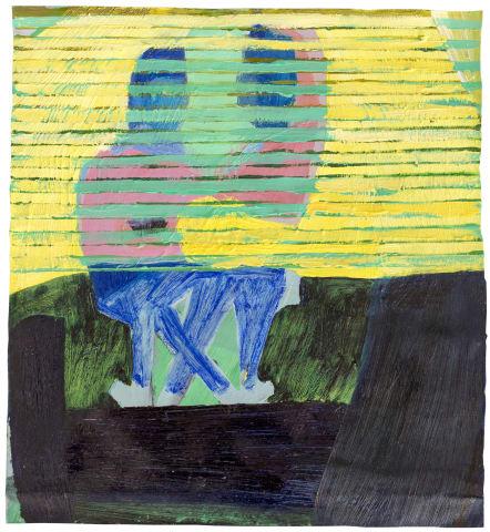Christiane Bergelt, fsi, yellow blinds that never, 2017