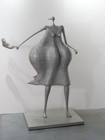 Abigail Varela, Mujer apurada con cartera, 2011