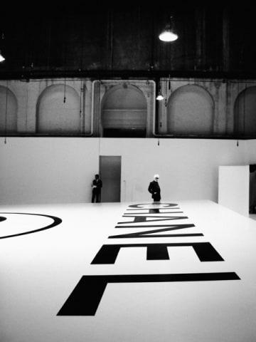 Simon Procter, Lagerfeld Above Chanel, Fall/Winter 2006, Paris, 2006
