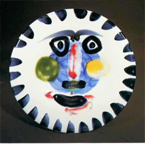 Pablo Picasso, AR 495 - Visage no. 202 (Face No. 202), 1963