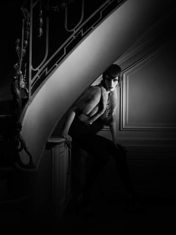 Greg Lotus, Under the Stair, Italian Vogue, 2006