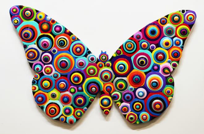 Mike Hammer, First Butterfly Blob, 2021