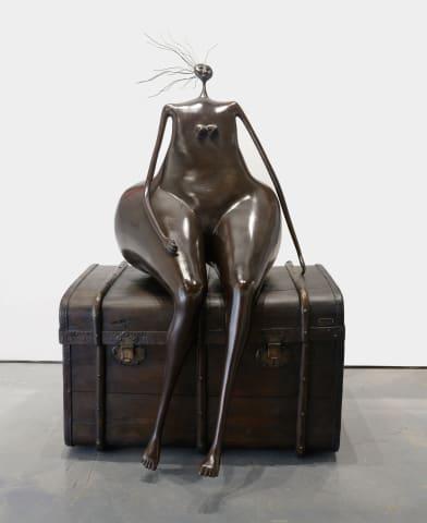 Abigail Varela, Sentada a la Espera, 1995