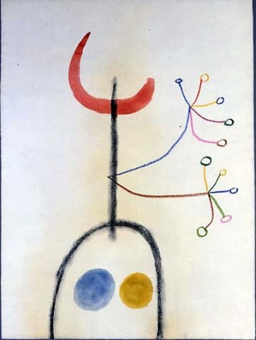 Joan Miró, Untitled, 1949