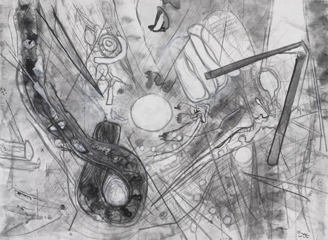 Roberto Matta, Untitled, 1999