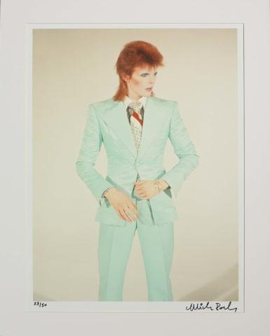 Mick Rock, Bowie / Life on Mars, London, 1973