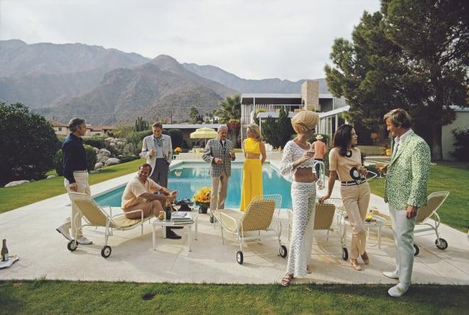 Slim Aarons, Palm Springs Party, 1970