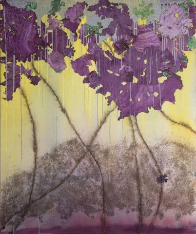 Mira Lehr, Magenta Rain, 2018 - 2019