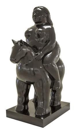 Fernando Botero, Donna a Cavallo, 2007