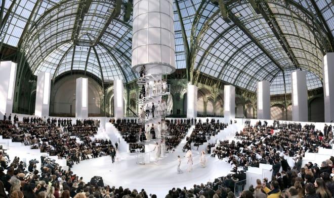 Simon Procter, Chanel, The Tower Haute Couture - Spring/Summer 2006, Paris - Grand Palais