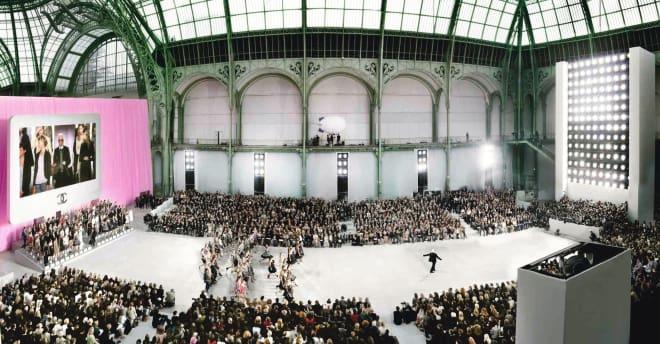Simon Procter, Chanel, Karl at the Grand Palais, 2006