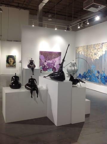Abigail Varela Sculptures on exhibit at Rosenbaum Contemporary in Boca Raton, Florida.