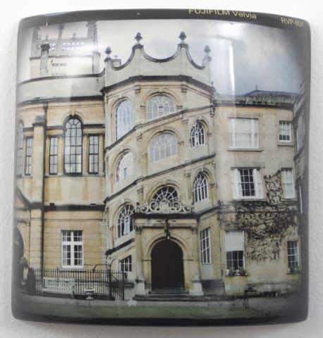 David Rhys Jones, Hertford College, Jackson Staircase