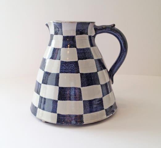 Tydd Pottery , Jug - Checkerboard Medium , 2019