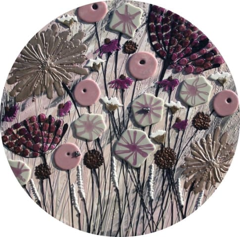 Sue Bartlett, Gold and Pink Meadow