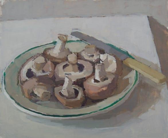 Sarah Spackman, Mushroom Plate