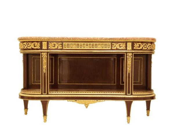 Console dessert table Louis XVI style