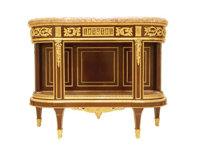 Console Dessert Table, Louis XVI Style