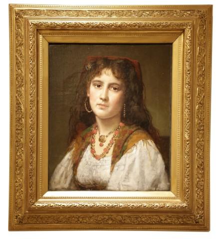 Portrait of an Italian Girl, 1870