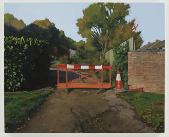 George Shaw, Trespasser (1), 2019