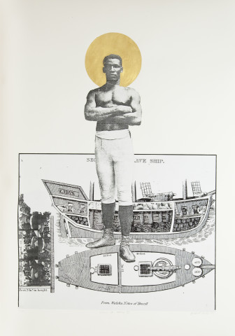 Godfried Donkor, SLAVE TO THE CHAMP III, 2009