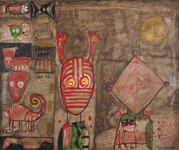 Toyin Loye, HOUSE OF CHIEFS II, 2009