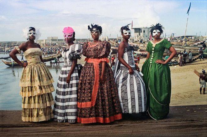 Godfried Donkor, Jamestown Masquerade XII, 2006