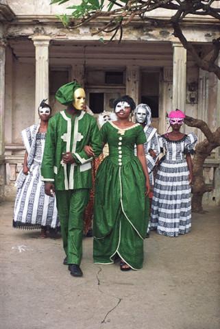 Godfried Donkor, Jamestown Masquerade IV, 2006