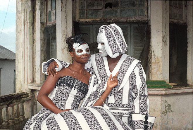 Godfried Donkor, Jamestown Masquerade VI, 2006