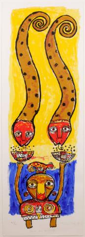 Toyin Loye, FEAST FOR SPIRITS II, 1997