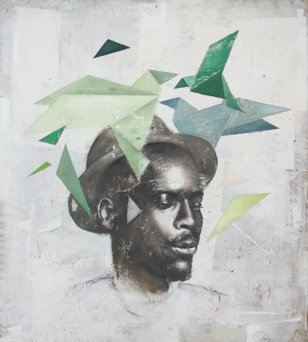 Ransome Stanley, ORIGAMI III, 2019