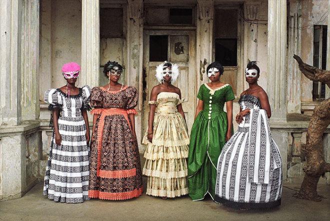 Godfried Donkor, Jamestown Masquerade IX, 2006