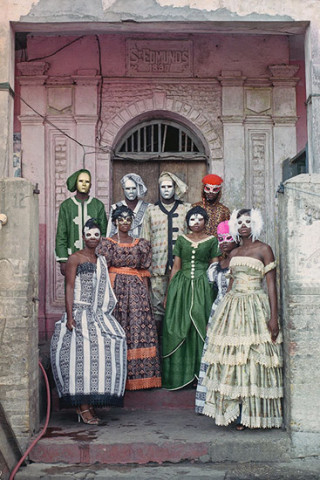 Godfried Donkor, Jamestown Masquerade VII, 2006