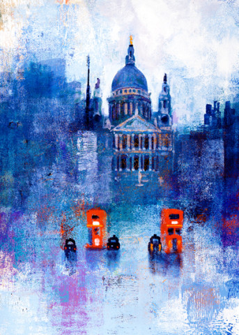 Colin Ruffell, Impression St Paul's, A3+