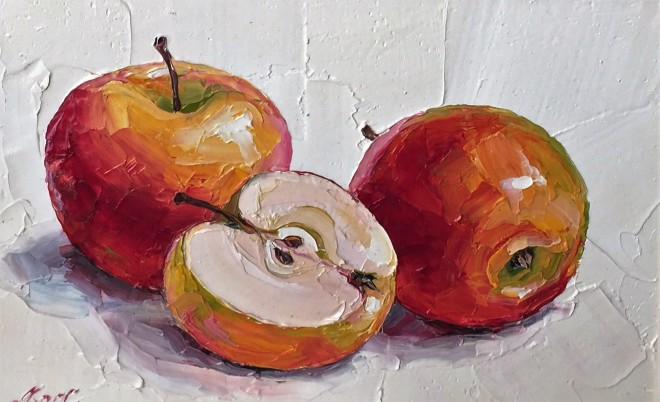 Lana Okiro, Apples