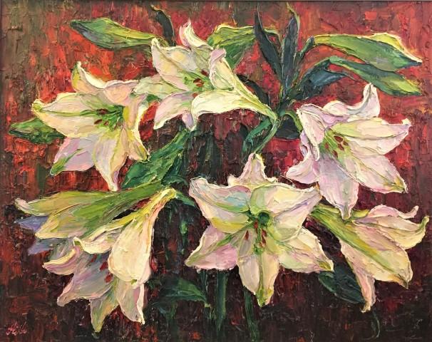 Lana Okiro, White Lilies