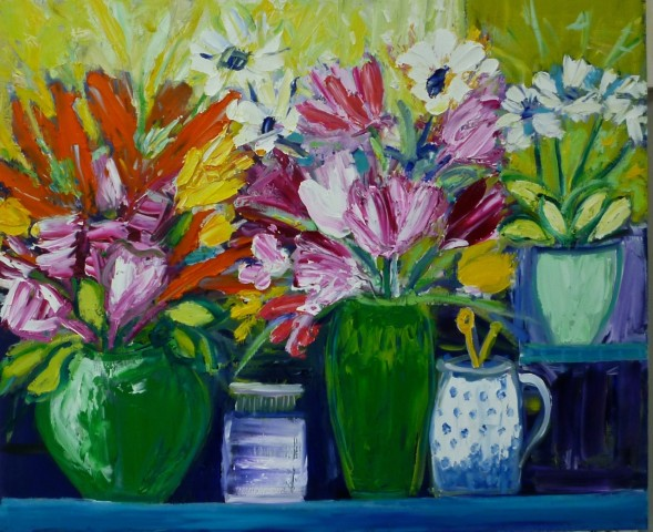 Penny Rees, Sun Room Flowers