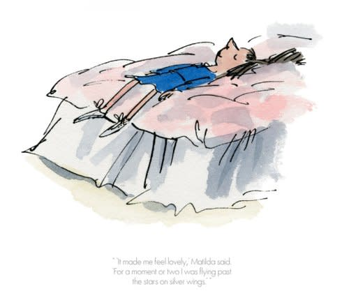 Quentin Blake/Roald Dahl, LOW STOCK - It made me feel lovely