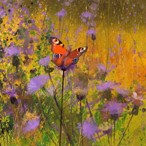 Paul Evans, Peacock and Thistles