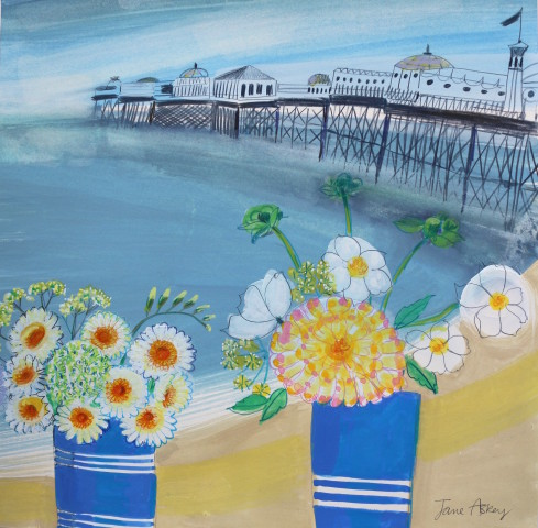 Jane Askey, Brighton Pier Summer Morning
